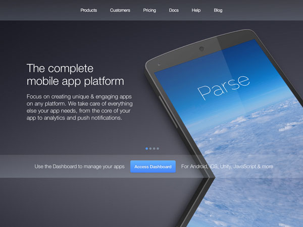 Parsecom website