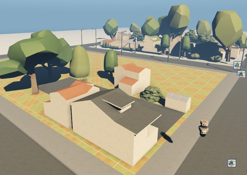 A Rendered 3D Scene