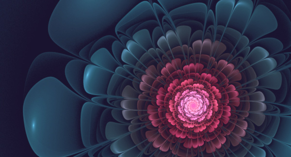 2D Advanced Fractal Flower
