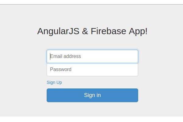 AngularJS  Firebase
