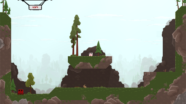 super meat boy gameplay image