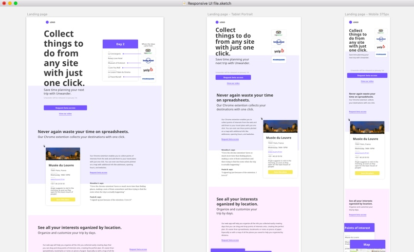 Tips and Tricks For a Responsive Design Process in Sketch