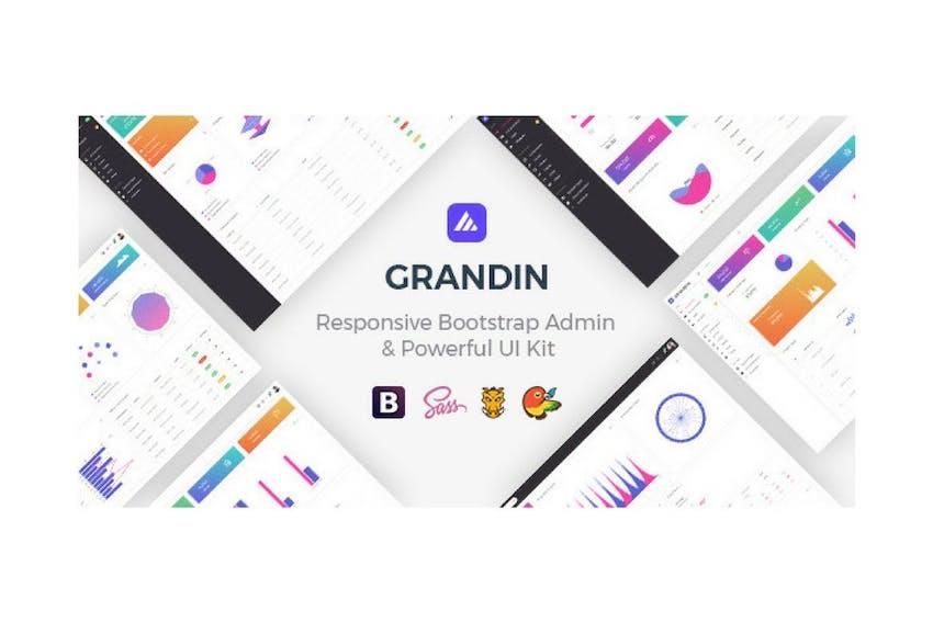 Grandin - Responsive Bootstrap Admin