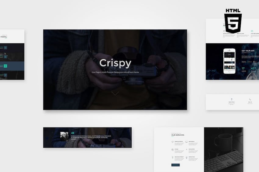 Crispy One Multi Page HTML