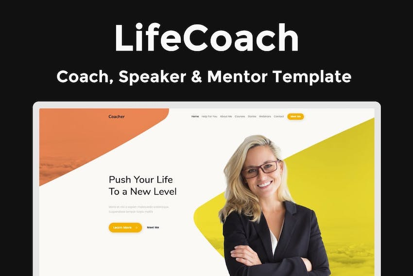 LifeCoach - Coach Speaker  Mentor Template