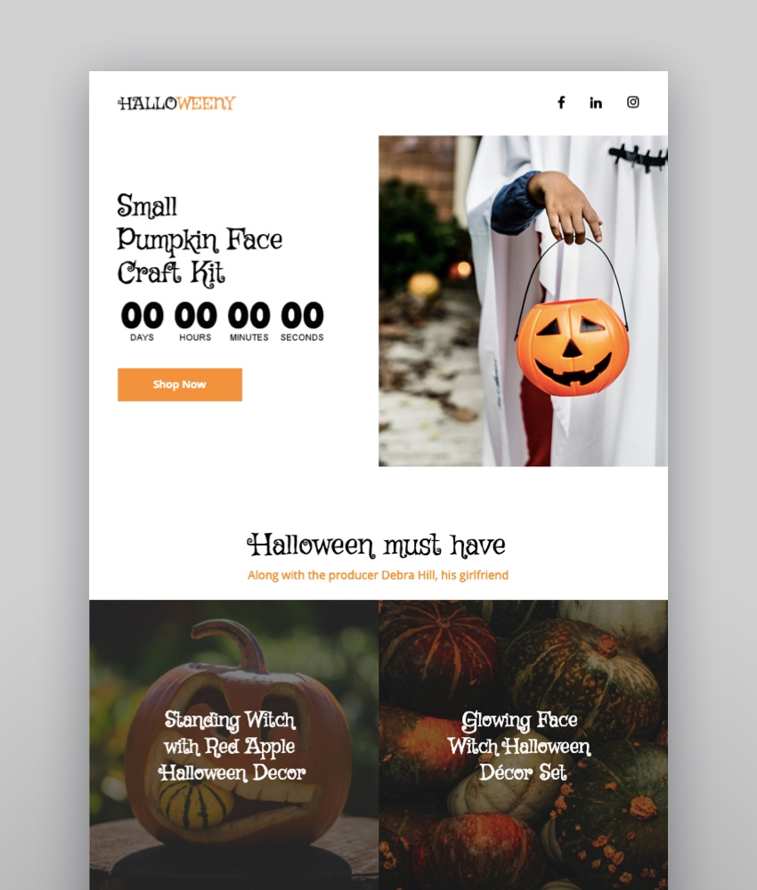 Halloweeny  Responsive Halloween Email