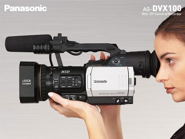Panasonic AG-DVX100 video camcorder