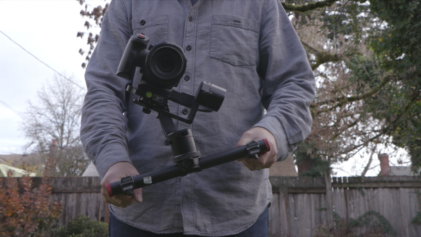 Follow Mode on the Roll Axis mimics an airplane or birds perspective