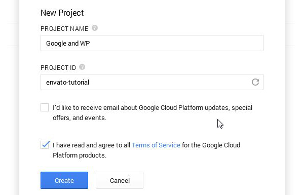 Hosting a WordPress website on Google App Engine-1