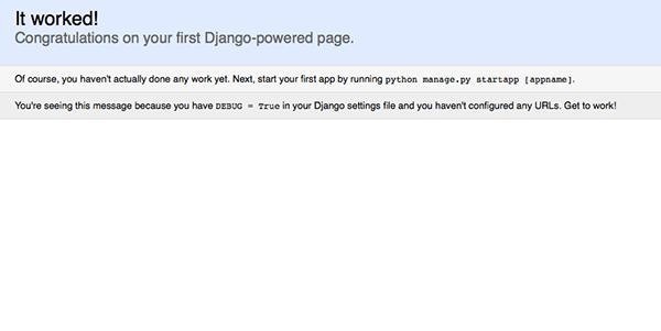 Rapid website deployment with django heroku new relic defining the model pronofoot35fo Gallery