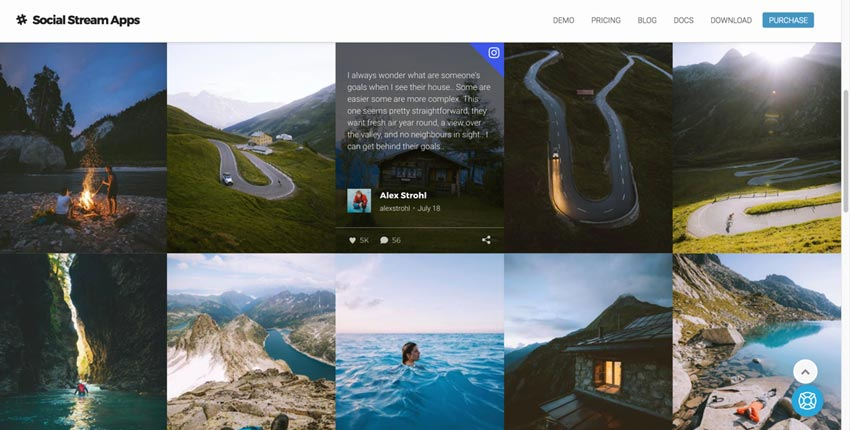 Flow-Flow WordPress Social Stream Plugin