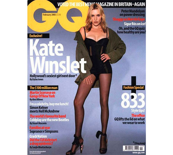 Kate Winslet GQ 2003