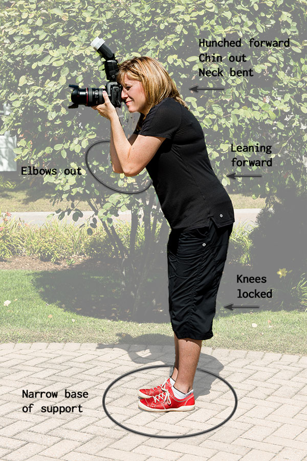 Poor Shooting Posture