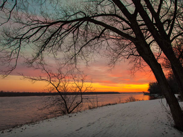 Sunrise on the Ottawa River
