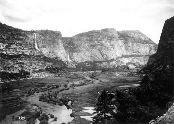 Photograph of Hetch Hetchy Valley early 1900s