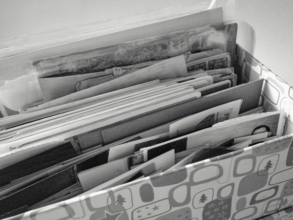 Box of photographs