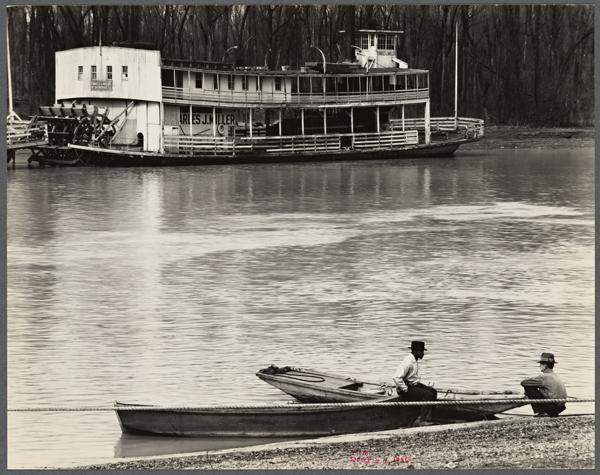 Walker Evans Ferry and River Men 1936