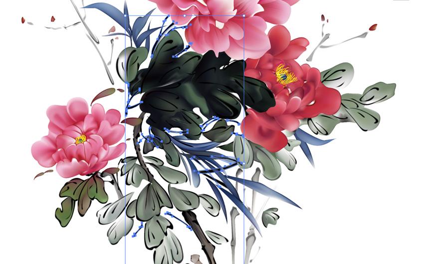 AI入门教程: 如何绘制无量花鸟画