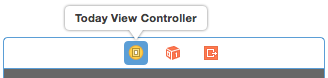 Selecting the view controller
