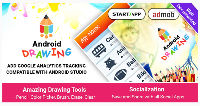 Android Drawing on Envato Market