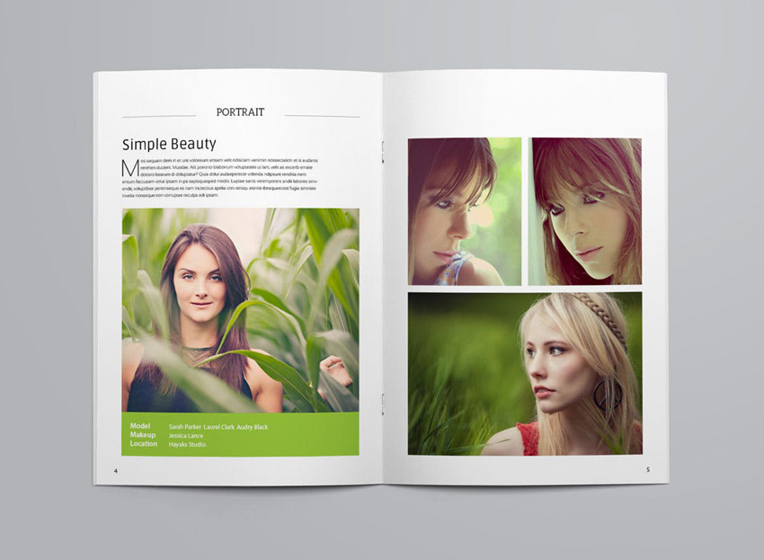 Minimal Photography Portfolio Brochure