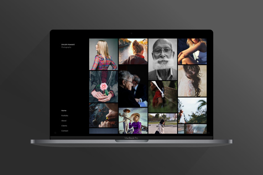 Sylk  Photography Portfolio Template