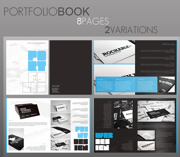 Portfolio Book on Envato Market