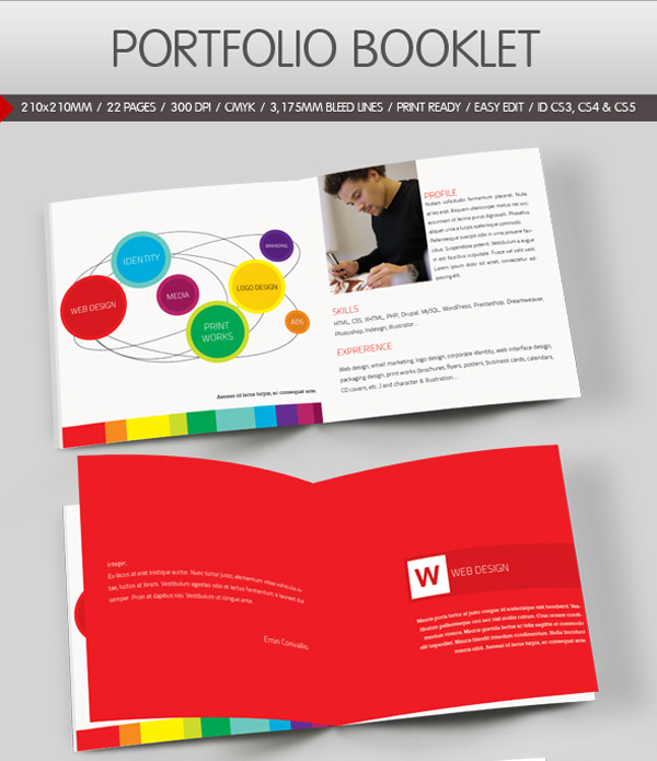 Portfolio Booklet on Envato Market
