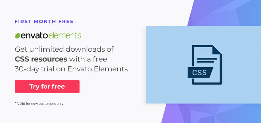Code resources on Envato Elements