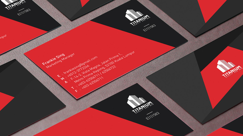 Making a print ready business card using only photoshop unique and modern business card design by cihanzengin reheart Images