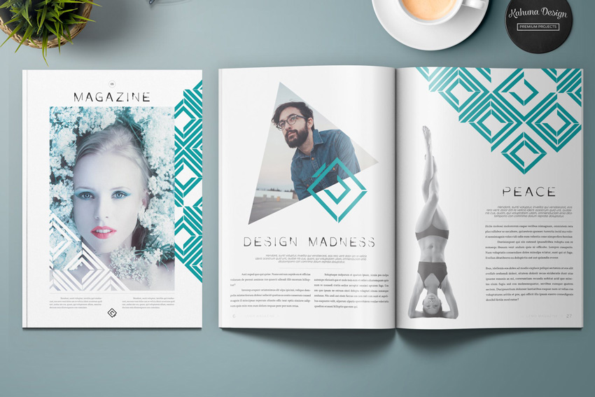How to create a professional magazine layout for Magazine storyboard template