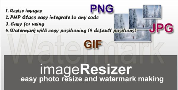 Image Resizer And Watermark Maker
