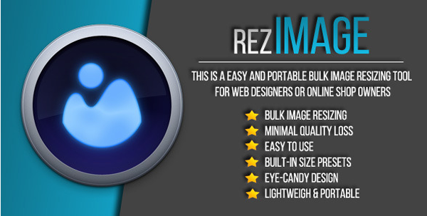 RezImage - Easy Bulk Image Resizing