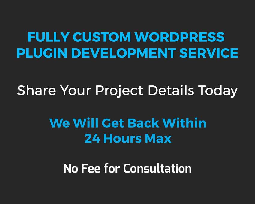 Wordpress Custom Plugin by cWebConsultants