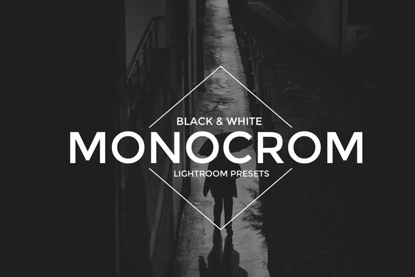 Monocrom BW Lightroom Presets