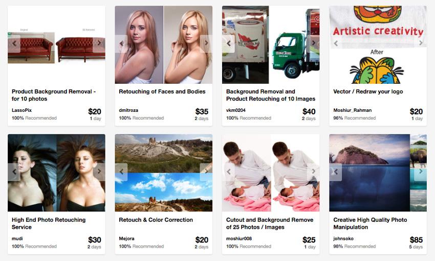 photo editing services on Envato Studio