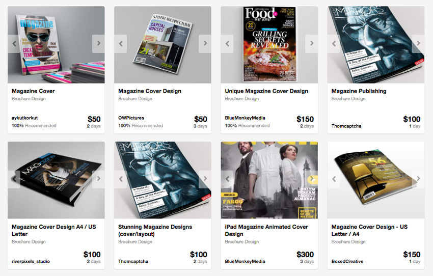 Magazine Design from Envato studio