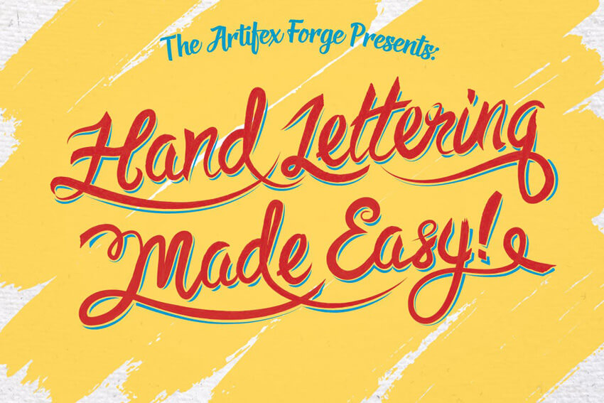 Set Of 74 Hand Lettering Brushes
