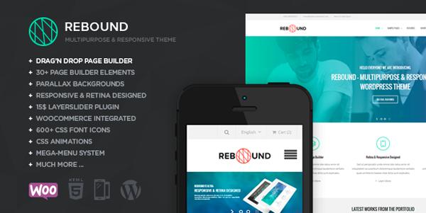 Rebound - Responsive Multipurpose Retina Theme