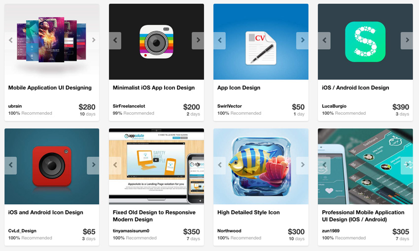 Android app templates available on Envato Market