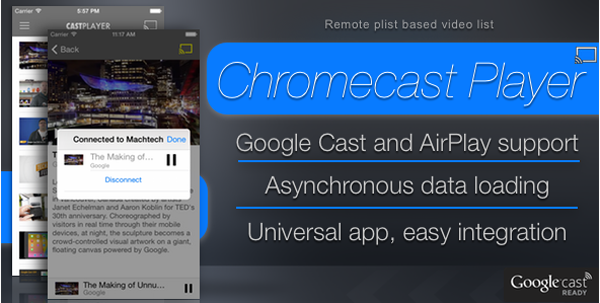 Chromecast Player on Envato Market