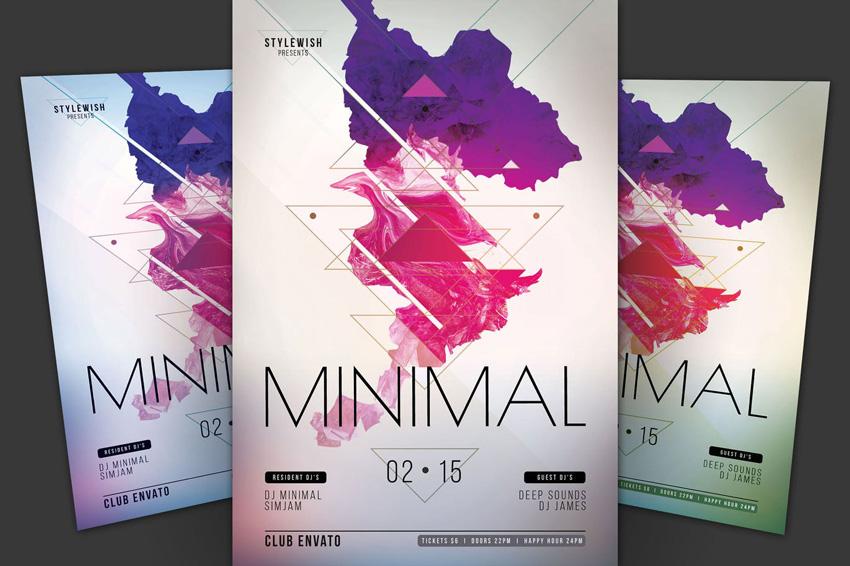 Minimal Flyer on Envato Elements