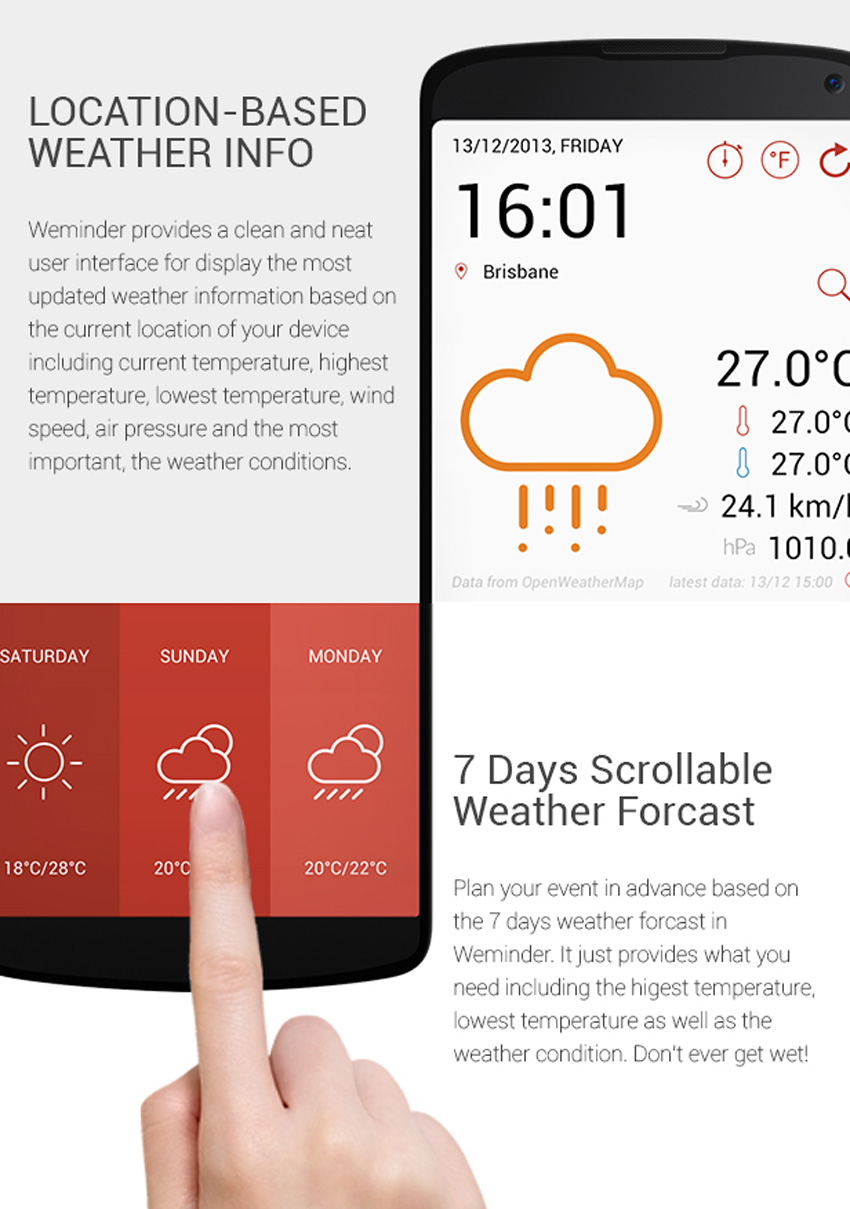 Open Weather Map Api Example.Create A Weather App On Android