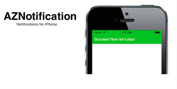 AZNotification Notifications for iPhone
