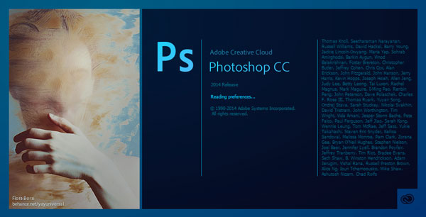 Adobe Photoshop CC 2014 update