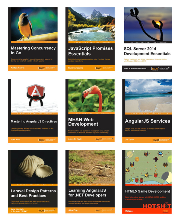 Latest collection of code eBooks