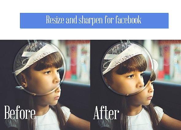 Resize and Sharpen for Facebook