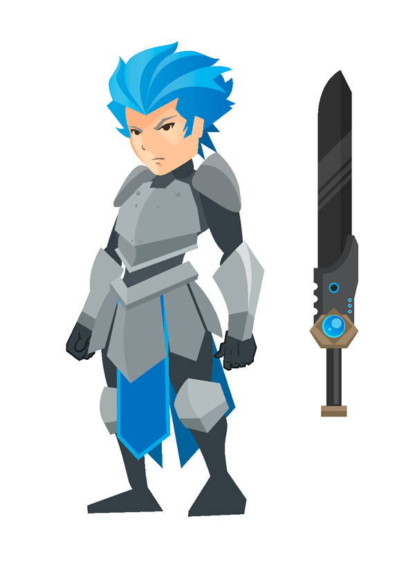 video game character design course final product