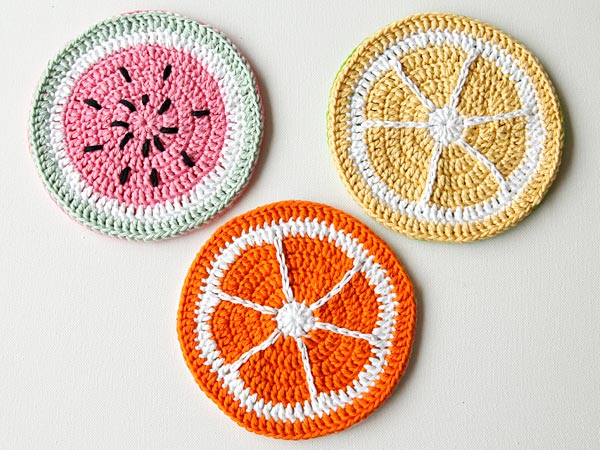 Crochet pot holders