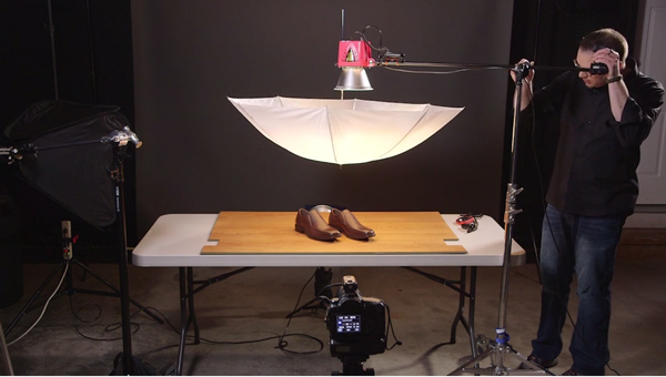 Screenshot from Product and Still Life Photography course